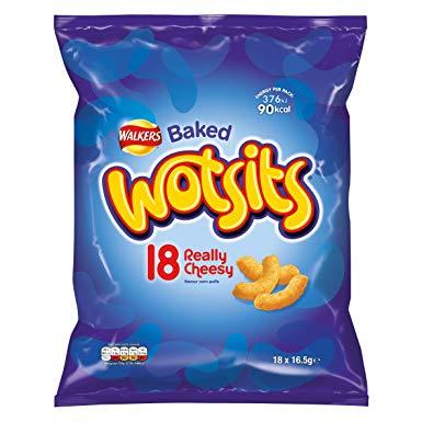 Wotsits 18 Pack - £1.25 Instore @ Sainsbury's (London)