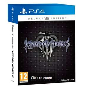 Kingdom Hearts 3 Deluxe Edition - £34.99 @ GAME