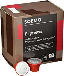 50 Nespresso compatible capsules - £2.11 @ Amazon Pantry - Prime Exclusive
