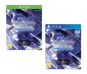 Monster Hunter World: Iceborne - Master Edition SteelBook [PS4/XBOX ONE] for £35.95 (Like New £34.95) Delivered @ The Game Collection