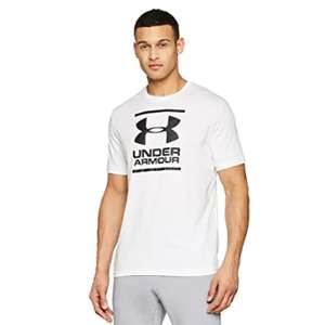 Under Armour Gl Foundation Short Sleeve Tee for Men Shirt White(M,L,XL)Charcoal Medium Heather(XL) for £9.99 Prime/+£4.49 Non Prime @ Amazon