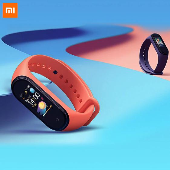 Original Xiao mi mi band 4 Smart mi Band 3 color screen bracelet £18.76 without new sign up code at AliExpress / Xiaomi MC Store