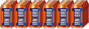 Irn Bru 330ml soft drink X 24 cans £6 ( With Prime / £10.49 non Prime)  @ Amazon