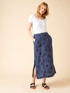 Roller Linen Maxi Skirt £32 at White Stuff