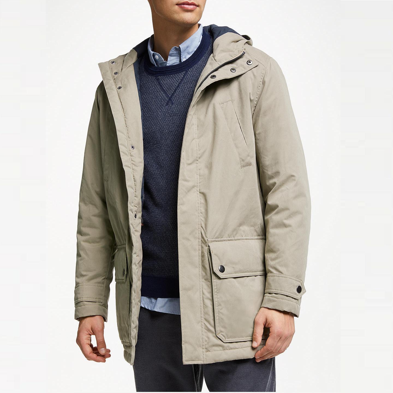 Shower Resistant Four Pocket Jacket, Natural now £43.50 at John Lewis & Partners