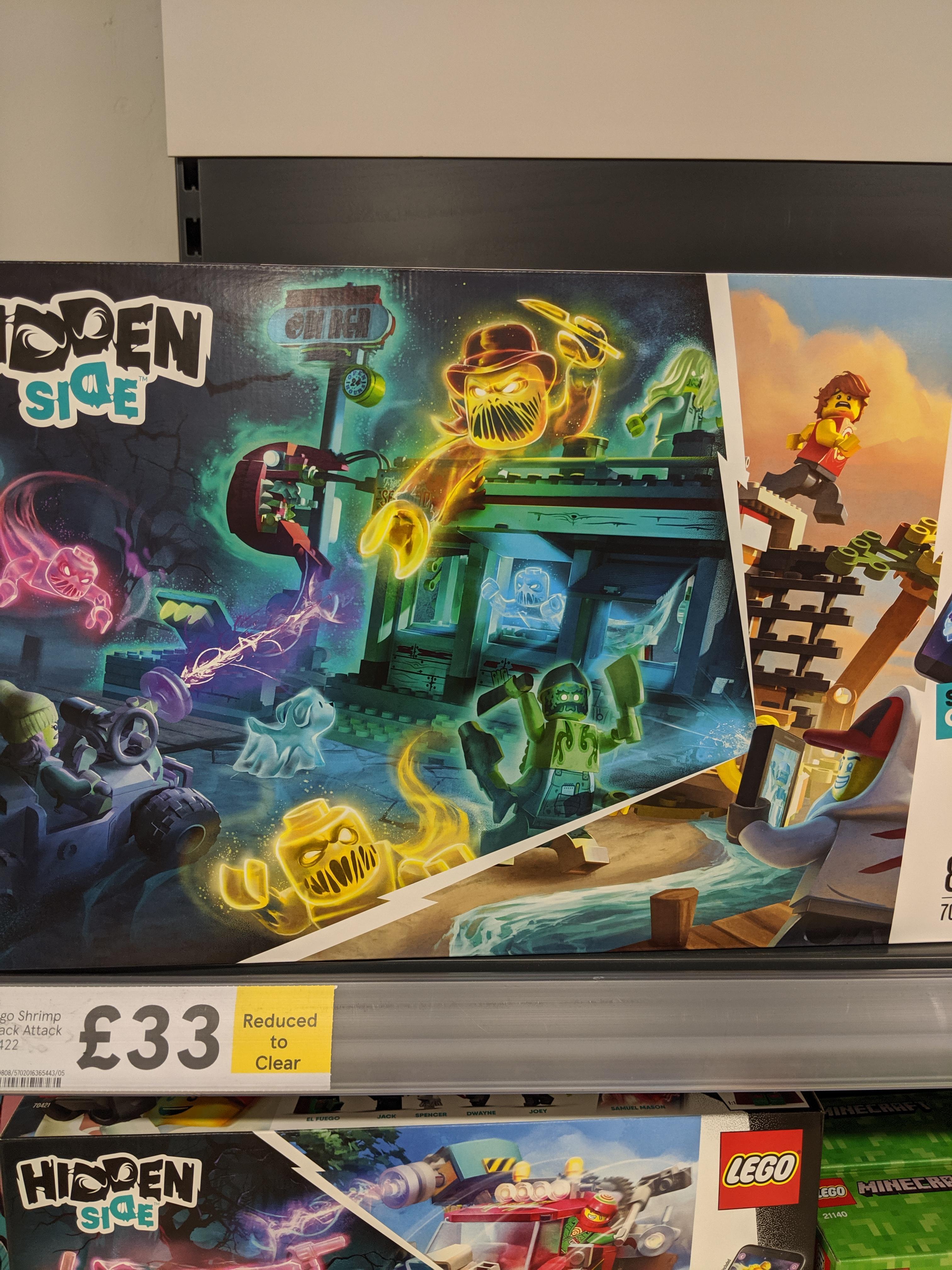 Lego Hidden Side 70422 Shrimp Shack Attack £33 @ Tesco instore