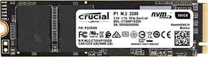 Crucial CT500P1SSD8 P1 500 GB (3D, NAND, NVMe, PCIe, M.2, Solid State Drive) £48.58 at Amazon Germany