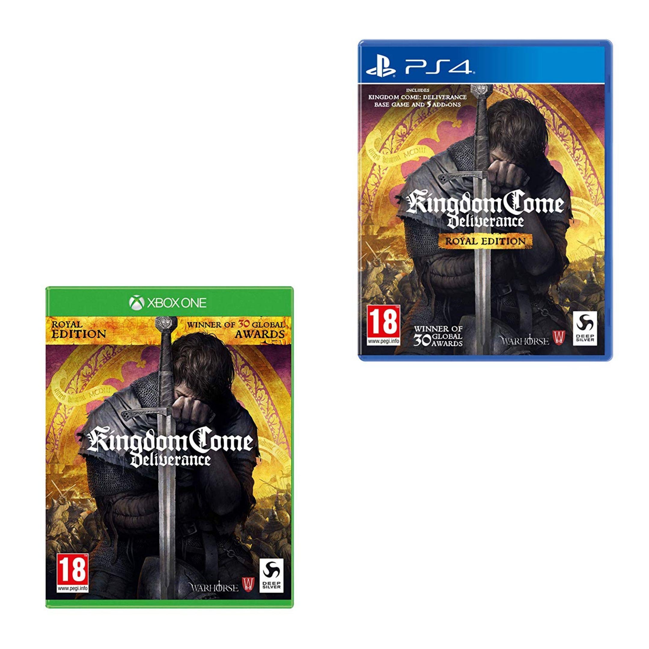 [Xbox One/PS4] Kingdom Come: Deliverance - Royal Edition £18.99 @ Amazon Prime / £21.98 Non Prime