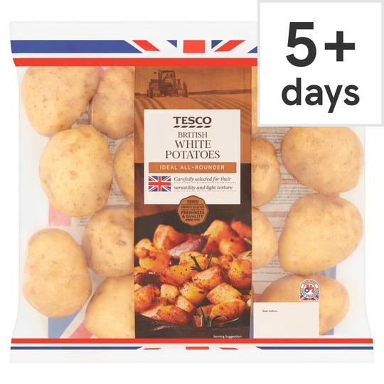 White Potatoes 2.5Kg Pack £1 @ Tesco