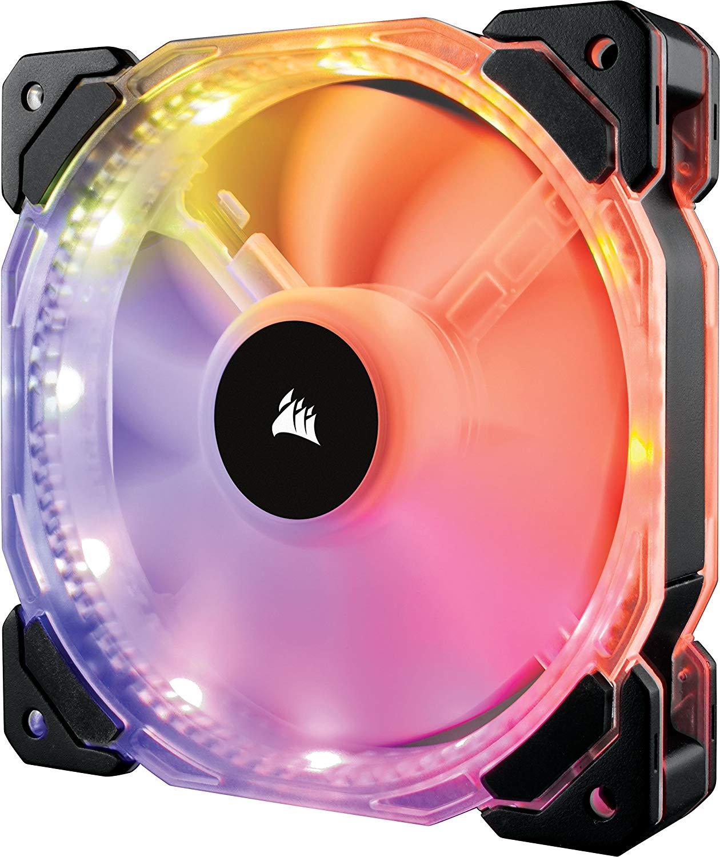 Corsair CO-9050068-WW HD140 140 mm RGB LED Fan £12.98 at Amazon Prime / £17.47 Non Prime