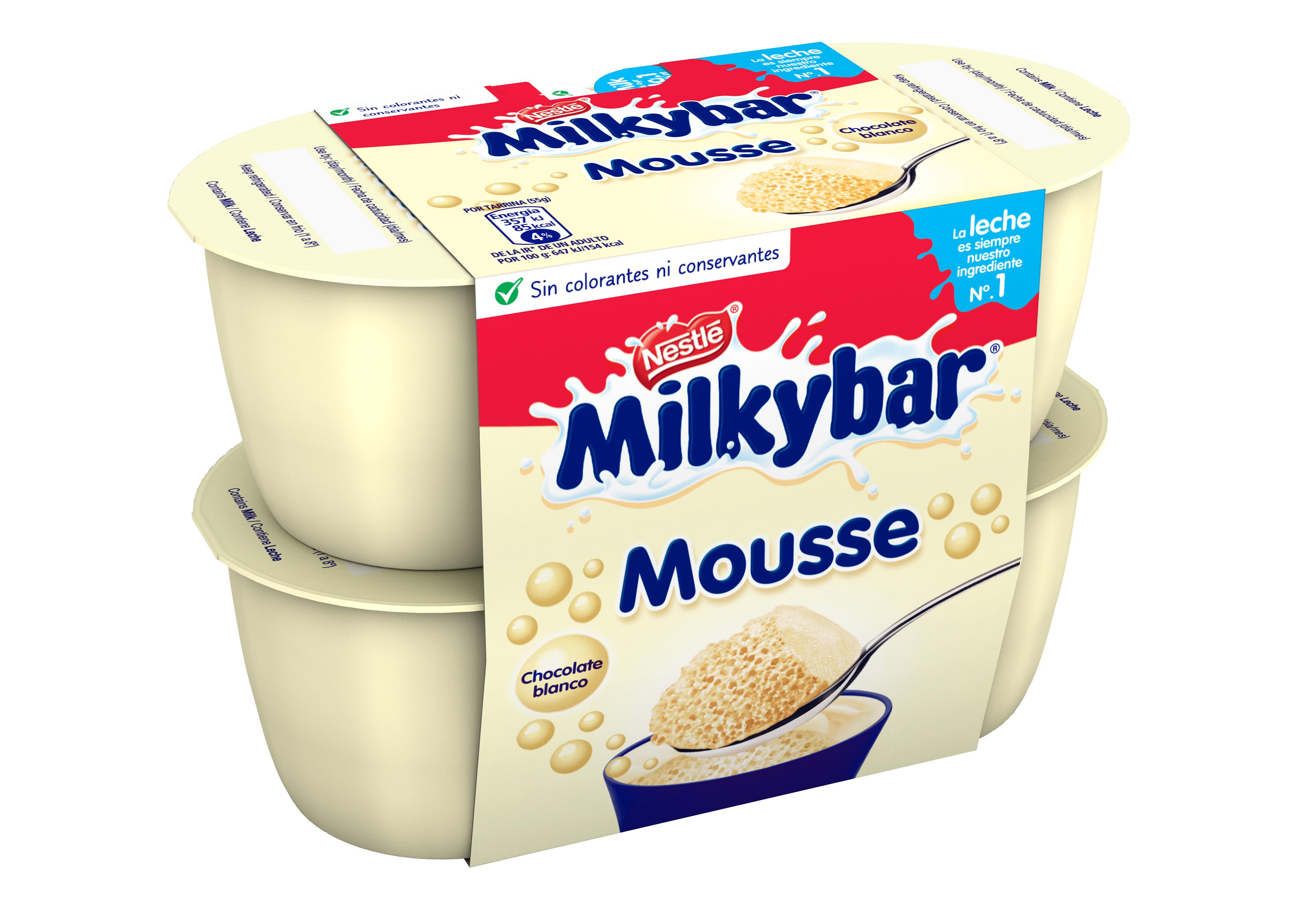 Nestle Milkybar Mousse 4x55g for 75p @ Sainsbury's