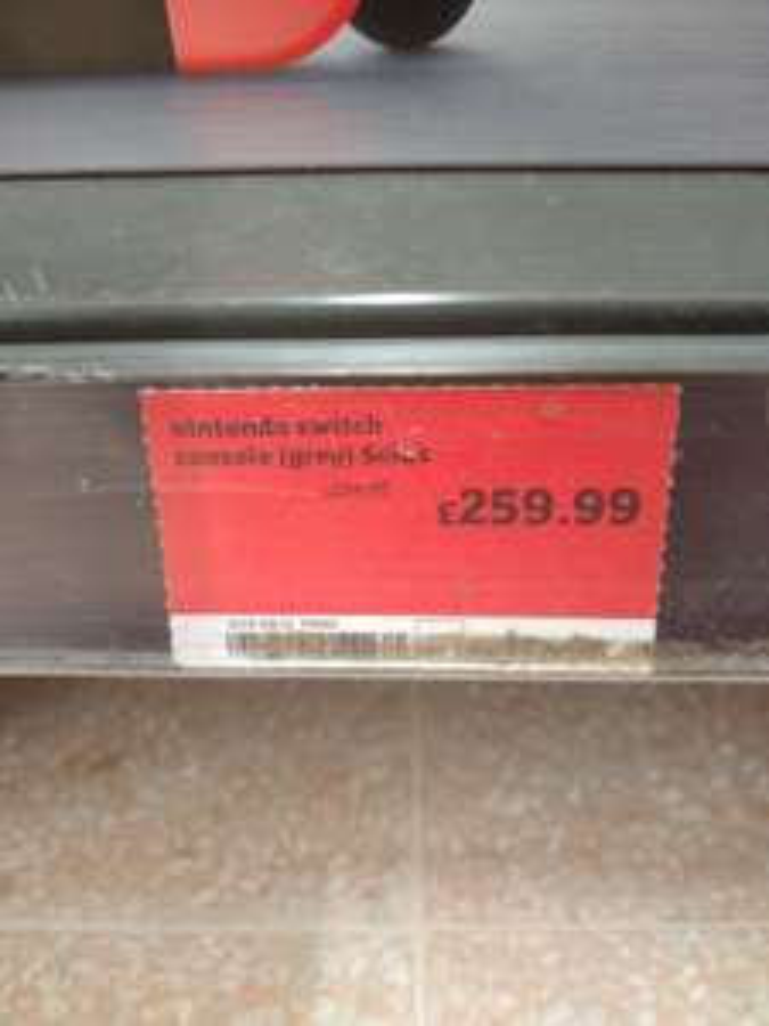 Nintendo Switch Grey £259.99 at Sainsburys instore
