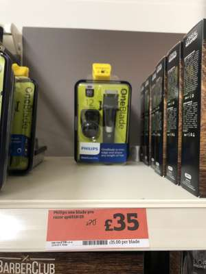 Philips one blade pro £35 instore @ Sainsbury's Pinner