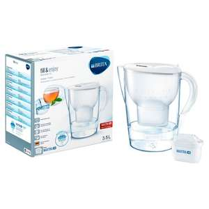 Brita Marella Maxtra XL White Water Filter 3.5L £10.66 in store and online - Sainsbury's