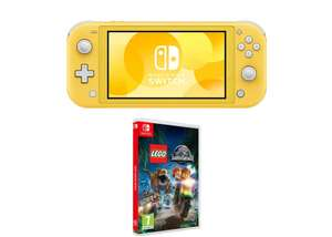 Switch Lite with Lego Jurassic World £219.99 @ Game