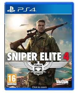 Sniper Elite 4 PS4 & XBOX 1 £12.99 @ Game