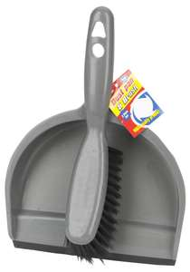 Dustpan & Brush Set for £1.10 @ CPC (Free delivery)