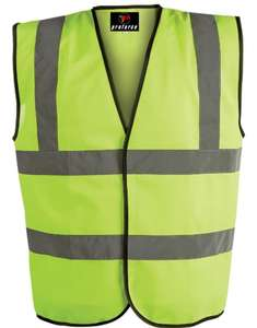 Hi-Vis Vest Yellow All Sizes - £2.36 delivered @ CPC