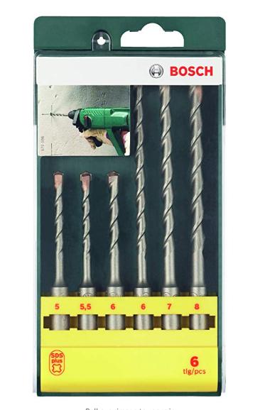 Bosch SDS drill bit set £7.99 prime / £13.99 non prime @ Amazon