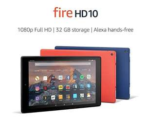 Amazon HD10 Tablet £109.99 @ Amazon Prime members only