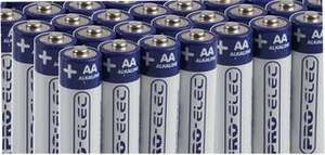 Pro Elec Ultra Alkaline AA Batteries 100 Pack @ CPC £15.00 (Free delivery)