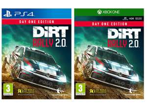 Dirt Rally 2.0 Day One Edition (PS4 / Xbox One) for £17.85 delivered @ Simply Games
