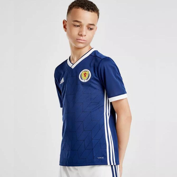 adidas Scotland 2018/19 Home Shirt Junior £10 @ JD sports free c&c