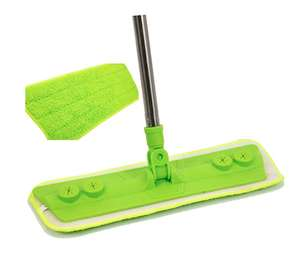 Microfibre Mop with Washable Cleaning Pad  £10 prime / £14.49 non prime Sold by The Dustpan and Brush Store and Fulfilled by Amazon