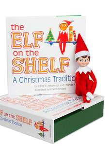 Elf on the Shelf: A Christmas Tradition £16.99 prime / £21.48 non prime The Elf on the Shelf Official UK Santa Store and Fulfilled by Amazon