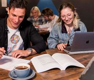 BrewDog DeskDog £7 or £5 for students - hire a space in Brewdog bar for whole day, pint of Punk IPA + unlimited coffee