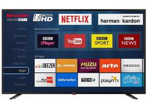 "Sharp 40"" Ultra HD 4K Smart TV with Freeview HD & Netflix Wifi LC-40UI7552K £244.95 delivered @ Dealbuyer"