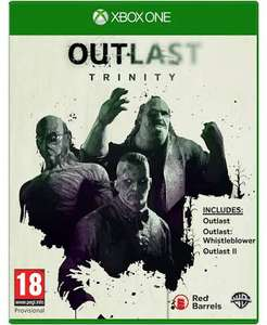 Outlast Trinity Xbox One £7.85 with Free Delivery at Base.com