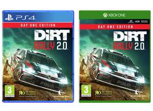 DiRT Rally 2.0 (PS4 / Xbox One) for £15.99 @ Argos