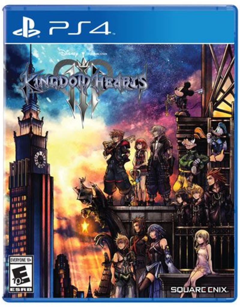 Kingdom Hearts 3 - PS4 & XB1 - £14.99 @ Argos