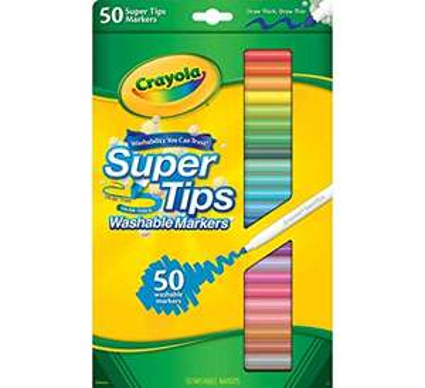 Crayola Twistable Crayons (52) & Crayola Supertip washable markers (50) £2.50 @ Tesco - Manchester
