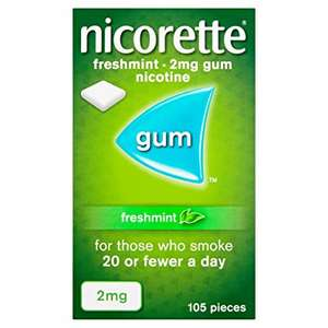 Nicorette gum reduced to £5 at wilkinsons instore