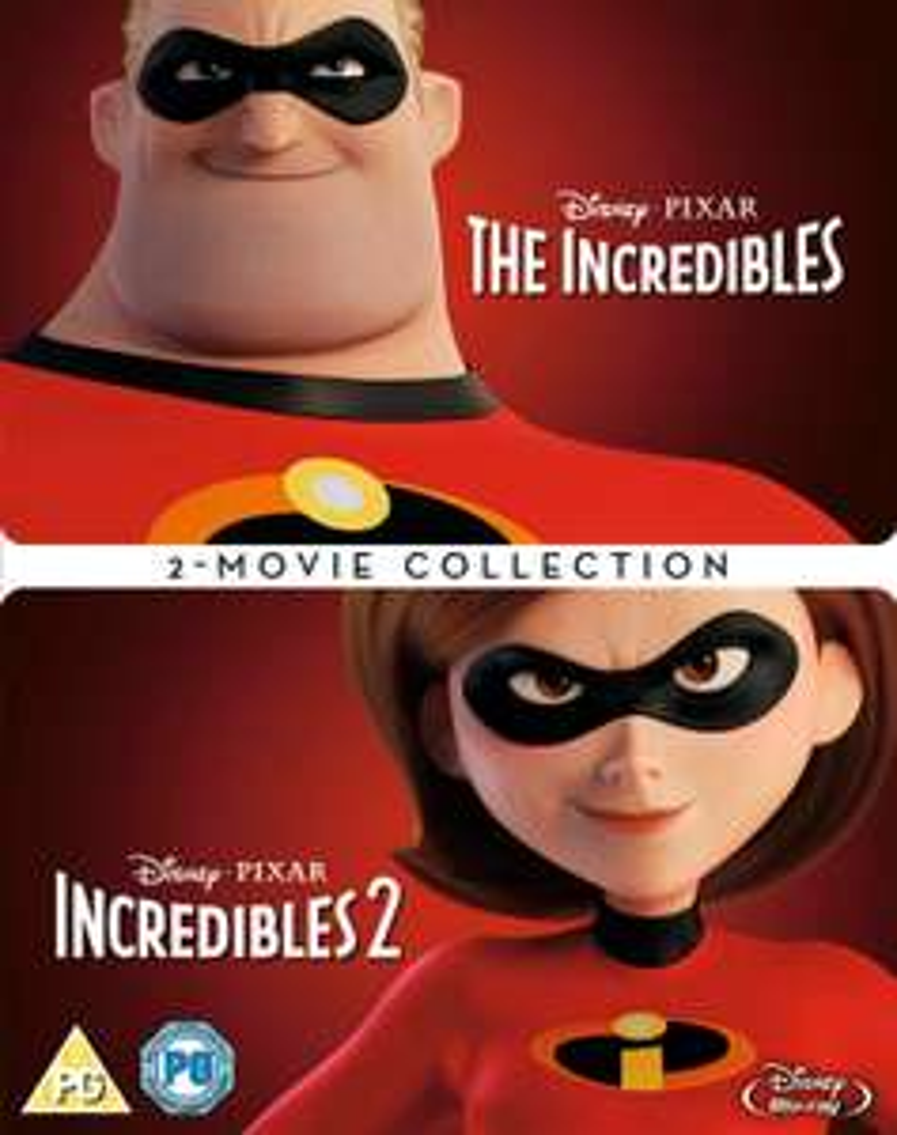 The Incredibles 1 & 2 Blu-Ray Boxset £13.00 (Prime) / £15.99 (non Prime) @ Amazon UK