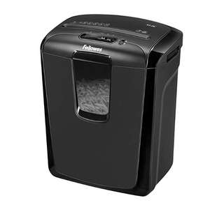 Fellowes Powershred M-8C 8 Sheet Cross Cut Powerful Shredder With Safety Lock £34.99 @ Amazon