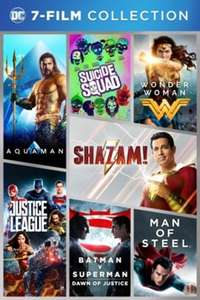 DC 4K 7-Film Collection £29.99 @ iTunes