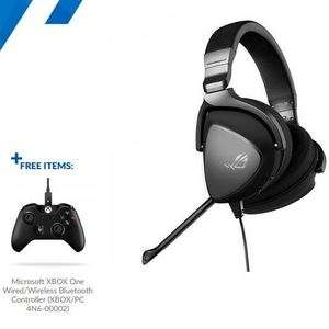ASUS ROG Delta Core Gaming Headset with FREE Xbox One Controller - £98.69 delivered @ Overclockers