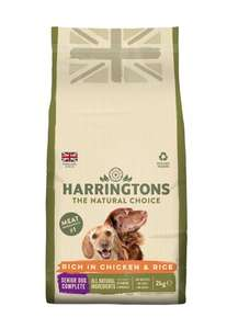 25% off subscriptions at Harringtons Pet Food on subscriptions of up to £100