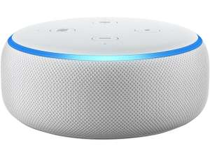 Amazon Echo Dot (3rd Gen) Smart Speaker With Alexa (White or Grey) for £27.20 delivered @ AO eBay