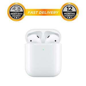 Apple AirPods 2nd Gen with Wired Charging Case - White for £123.98 With code Sold by hitechelectronicsuk @ Ebay
