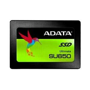 Adata Ultimate SU650 960GB SSD for £76.18 Delivered With Code @ Ebuyer/Ebay