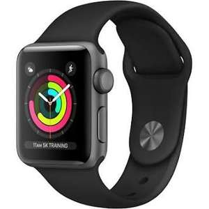 Apple Watch Series 3 38 mm GPS Space Grey Aluminium Case. With code  @ AO on eBay. - £159.20