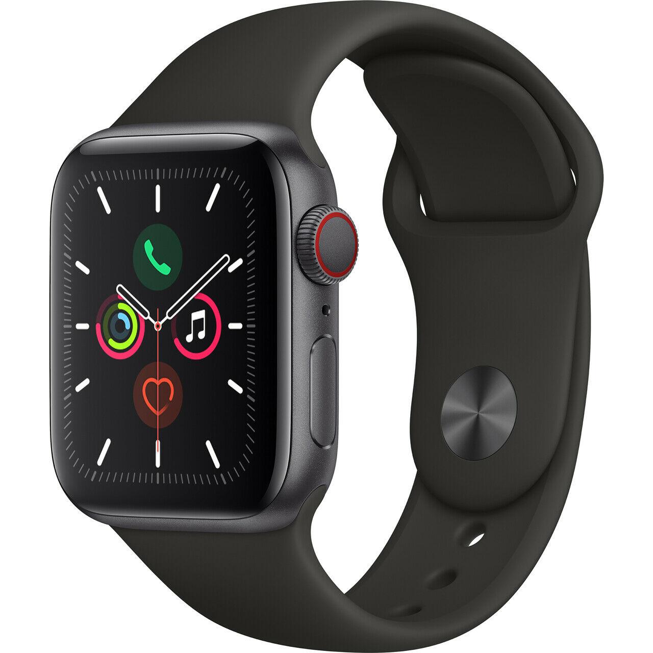 Apple Watch Series 5 40 mm GPS + Cellular Space Grey Aluminium Case - £439 @ AO Ebay