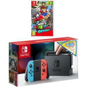 Nintendo Switch V1 + Mario Odyssey + £30 Eshop voucher £259 AO on eBay