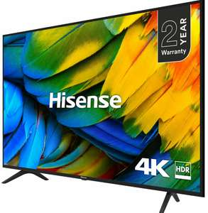 55 Inch Hisense H55B7100UK B7100 TV Smart 4K Ultra HD LED Freeview HD 3 HDMI + 2 Year Warranty - £369 with code @ AO eBay