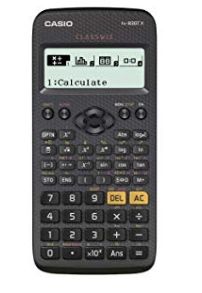 Cassio scientific calculator - £9.95 (Prime) £14.44 (Non Prime) @ Amazon
