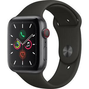 Apple Watch S5 44mm GPS + Cellular (2019) Space Grey Aluminium Case £469 @ AO eBay